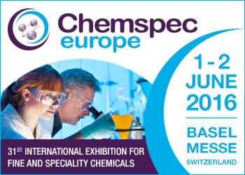Chemspec 2016, Basel, Switzerland