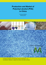 Polyvinyl alcohol (PVA) production and market in China (2nd edition)